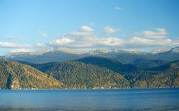 Mountain lake. Teletskoye in Altai Royalty Free Stock Photos