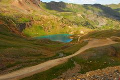 Mountain Lake in Telluride, Colorado Stock Photo
