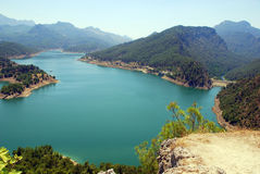 Mountain lake (Turkey) Stock Photos