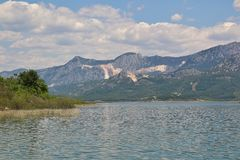 mountain lake in Turkey Royalty Free Stock Photo