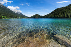 Mountain lake with turquoise blue water. Stock Photography