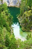 Mountain lake in the Tyrolean Alps Stock Photo