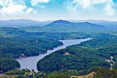 Mountain and Lake View royalty free stock photos
