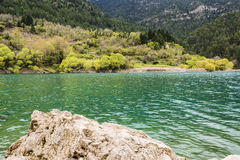 Mountain Lake View Royalty Free Stock Photography