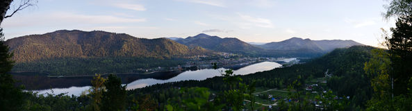 Mountain lake Stock Photos