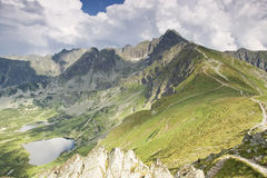 Mountain lakes. Royalty Free Stock Images