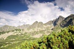 Mountain lakes. Stock Images