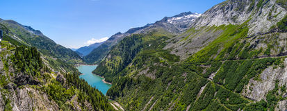 Mountain lakes. Amazing view of mountain lakes in Austria Alps Stock Images
