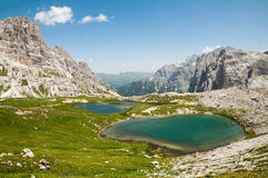 Mountain Lakes Royalty Free Stock Photos
