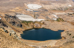 Mountain Lakes and Glaciers Royalty Free Stock Photos