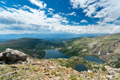 Mountain Lakes Landscape Royalty Free Stock Images