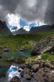 Mountain lakes Royalty Free Stock Photography