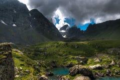 Mountain lakes Stock Photography