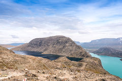 Mountain lakes in Norway Royalty Free Stock Photography