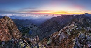 Free Mountain Landcape Panorama At Summer In Poland Tatras Near Zakop Stock Image - 109184631