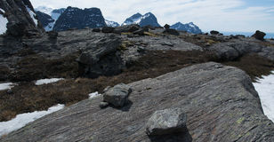 Mountain and landforms Stock Photography