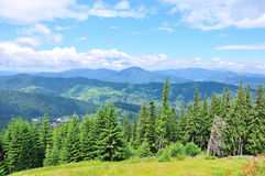 Free Mountain Landscape Royalty Free Stock Photography - 10520847