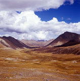 Mountain landscape. It is mountain landscape, location is in Tibet of China. photoed by film Royalty Free Stock Photos