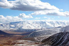 Mountain landscape. On altai in siberia Stock Photography
