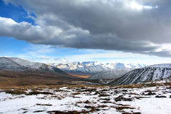 Mountain landscape. On altai in siberia Stock Photos