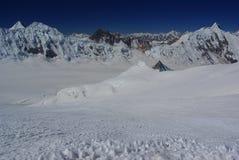 Mountain landscape. By the ascend workman peak, biafo hispar traverse Royalty Free Stock Photos