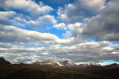 Mountain landscape. Himalayan mountain at sunrise, Ladakh, India Royalty Free Stock Image