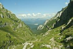Mountain Landscape. A mountain landscape in Bucegi mountains , Romania, Valea cerbului Stock Images