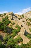 Mountain landscape. Mountain and rock landscape, Noviy svet, Crimea, Ukraine Royalty Free Stock Photos