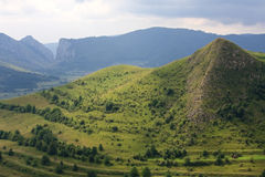 Mountain landscape. Transylvania in summer Stock Photography