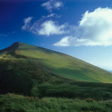 Mountain landscape. Carpathian mountain range, Ukraine Royalty Free Stock Photo