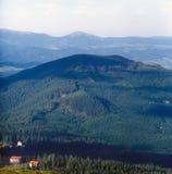 Mountain landscape. Carpathian mountain range, Ukraine Royalty Free Stock Photos