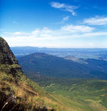 Mountain landscape. Carpathian mountain range, Ukraine Stock Image
