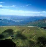 Mountain landscape. Mountain landscape with small mountain lakes. Carpathian mountain range, Ukraine Stock Image