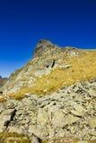 Mountain landscape. View of mountain peak Stock Image