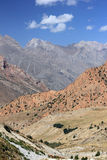 Mountain landscape. The beautiful mountain landscape in central asia. Tadzhikistan Stock Image