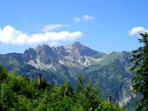 Mountain Landscape. During the summer in the Alps Royalty Free Stock Photography