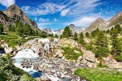 Mountain landscape Royalty Free Stock Photos