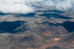 Mountain landscape from above Royalty Free Stock Images