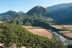 Mountain Landscape In Albania Royalty Free Stock Photo