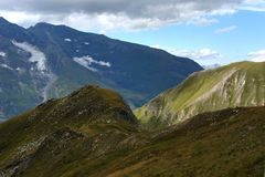 Mountain landscape in the Alpes Royalty Free Stock Photos