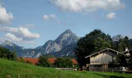 Mountain landscape - Alps. Mountain landscape in the summer. Alps,Germany,Europe Stock Photos