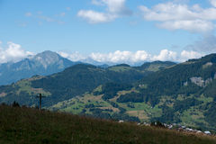 Mountain landscape in Alps Royalty Free Stock Photography
