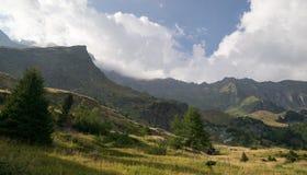 Mountain landscape in Alps Stock Photo