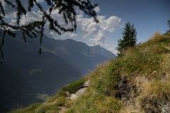 Mountain landscape in Alps Stock Photography