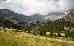 Mountain landscape in Alps Stock Image