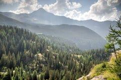 Mountain landscape in Alps Stock Photos