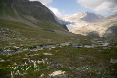 Mountain landscape in Alps Royalty Free Stock Photos