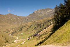Mountain. Landscape of mountain alps in Italy Royalty Free Stock Photography