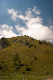 Mountain. Landscape of mountain alps in Italy Stock Photos