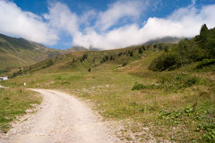 Mountain. Landscape of mountain alps in Italy Royalty Free Stock Image